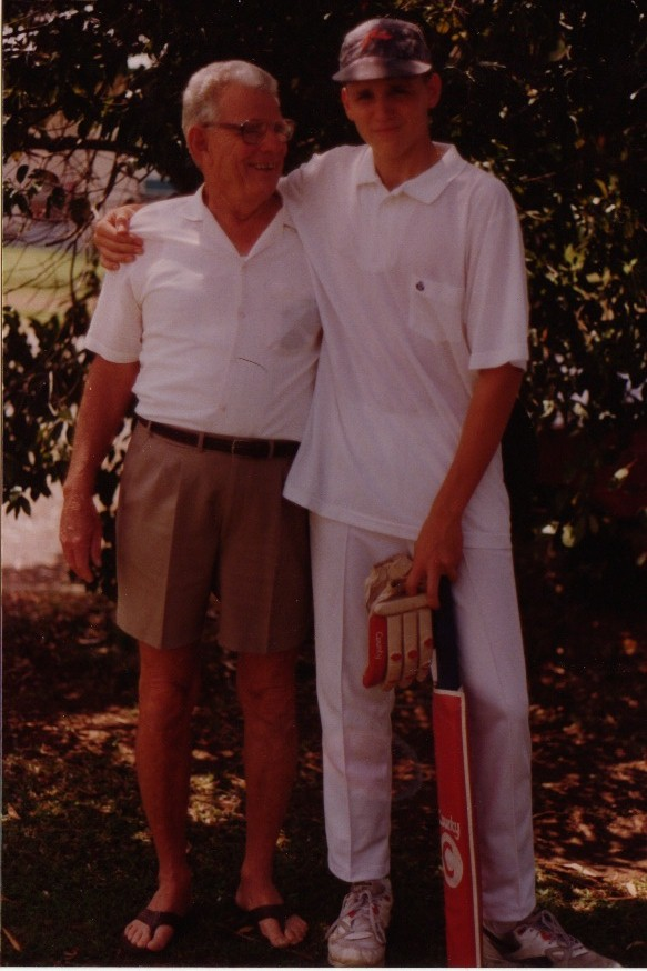 Picture of Dave's dad and his granddad