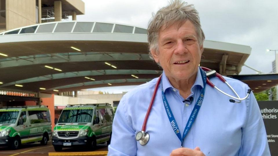Dr Bruce Robinson 23 April COVID-19 Update