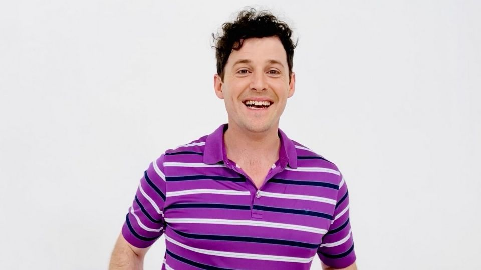 Podcast with Purple Wiggle Lachlan Gillespie talking about blended families