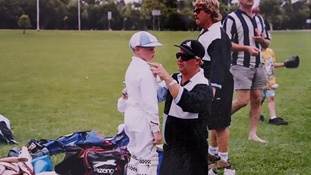 Fathering values and resilience webinar with cricket dad Peter Smith
