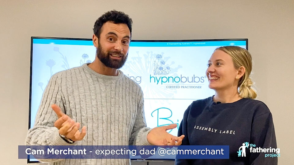 Preparing for childbirth with expecting dad Cam Merchant