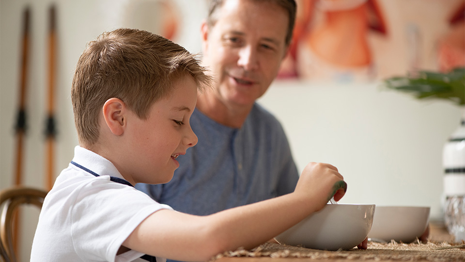 Developing your father-son relationship through interests and activities