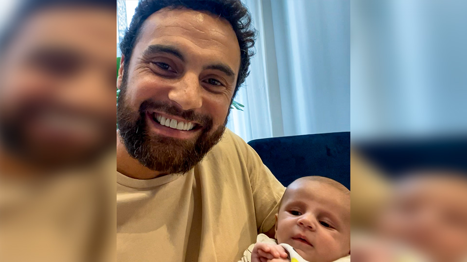 Cam Merchant talks about his new role in fatherhood